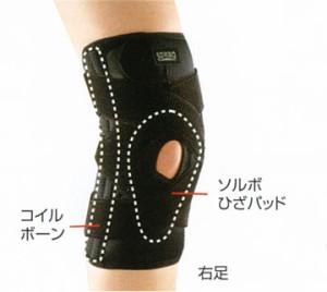 送料無料★SORBO(ソルボ)Do ニーサポーター(右) 膝痛対策サポーター
