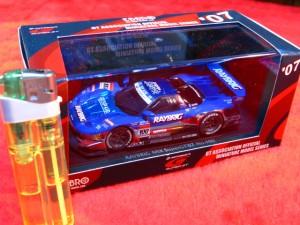 ■遠州屋■ レイブリック NSX スーパーGT '07 #100 ミニカー♪