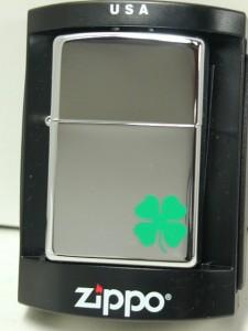 ジッポーZippo Bit o Luck四葉クローバー250 #24007 新品2007年製
