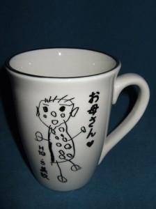 ★お子様の絵をマグカップにします。★記念に・プレゼントに最適(^0^)
