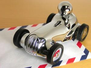 トロイカ レーシング型 ペーパーウェイト&ホルダー