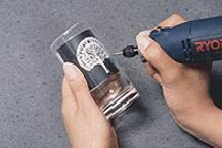 【送料無料】【リョービ】●ホビールータ (HR-100) 硝子、プラスチック、金属の彫刻、研磨や、工作などに