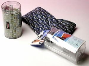 携帯用ネクタイ収納ケース出張に便利≪プリント生地用≫  定形外郵便で送料無料