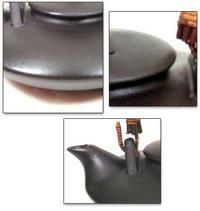 伝統の黒千代香5客ツル付 (芋焼酎 結、東国原 720ml×2本セット)