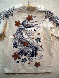 INFINITY インフィニティ 半袖和柄Tシャツ 鯉