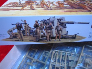 ■遠州屋■ ドイツ88ミリ砲 Flak36 北アフリカ戦線 (MM-283)★