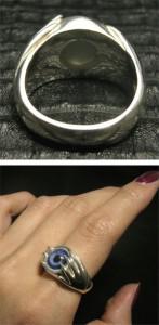 【Catalonia】ハンド&目玉/アイズ シルバーリング 11〜27号【送料無料】義眼リング/指輪/メンズ/シルバー/大きいサイズ/ブランド