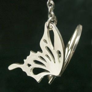 羽を広げる蝶シルバーピアス【舞・翔】(1P/片耳用)【仁-ZIN-】シルバー925/silver/メンズ/レディース/ピアス/片耳/ブランド/個性的