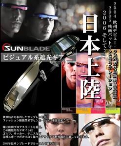 【訳あり】サンブレードSB502Hサングラス型遮光ギア
