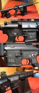 【モケイパドック】 HK416フルメタルカスタム【cus-160】