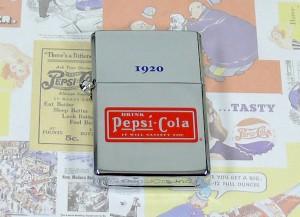 ペプシコーラ歴代ロゴデザインオイルライター■1920