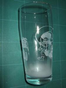 ★ビールが美味しくなるグラス♪<名前・風神>誕生祝・結婚祝・ギフト・プレゼントに♪