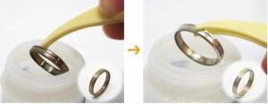 シルバークリーナー液20cc(ピンセット付き)*シルバー製品 アクセサリー(銀製品)の黒ずみを取り除きます♪