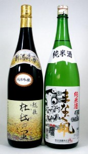 【限定N2】送料無料【厳選】品質にこだわった日本酒銘酒セット1800ml×2本