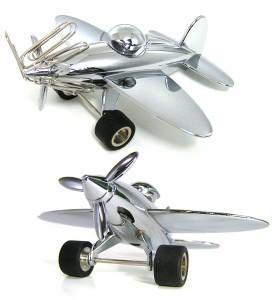 トロイカ 飛行機型ペーパーウェイト&ホルダー