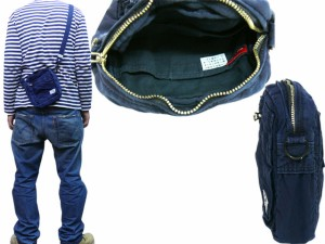 ポーター 吉田カバン DEEPBLUE ディープブルー 藍染めショルダーバッグ 630-06446 送料無料