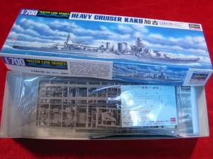 【遠州屋】 日本重巡洋艦 加古 (かこ) 1/700 WL(346) ハセガワ(市)★