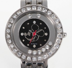 文字盤のチャームがキレイ♪ミッキーハッピー腕時計