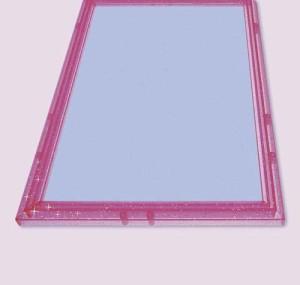 クリスタルパネル【108ピース用(25.7×18.2cm) キラピンク】エポック社