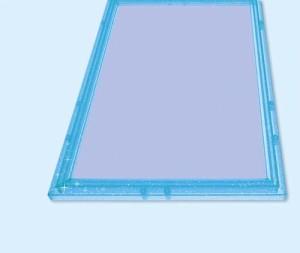 クリスタルパネル【108ピース用(25.7×18.2cm) キラブルー】エポック社