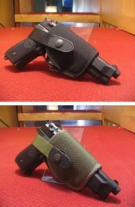 【モケイパドック】 イーストA ハイパーショートヒップホルスター M92・GM等 中〜大型オート用