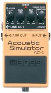 BOSS ボス・アコースティック シミュレーター AC-3 【z8】