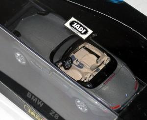 ダイキャストモデルカー【BMW Z8 グレイ】★特価