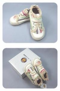 阪神タイガース承認 ロゴマーク入 子供 キッズ KIDS 靴 スニーカー MT・OR
