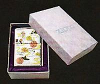 zippo優雅電鋳12月シリーズジッポー九月 『菊水』
