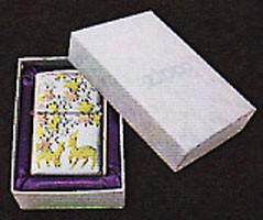 zippo優雅電鋳十二月シリーズジッポー10月 『紅葉』
