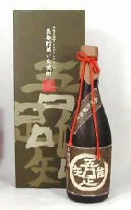 【限定醸造品】若松酒造 長期貯蔵熟成いも焼酎  吾唯足知 720ml
