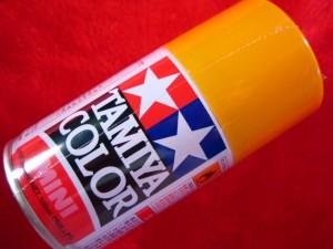 【遠州屋】 タミヤ スプレー塗料 (TS-56) ブリリアントオレンジ つやあり (市)★