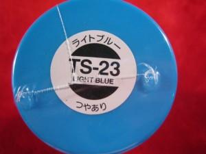 【遠州屋】 タミヤ スプレー塗料 (TS-23) ライトブルー つやあり (市)★