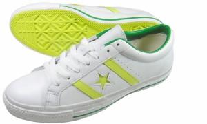 コンバース海外限定モデル CONVERSE Star70【ジャックスター/緑/黄】レモンイエロー