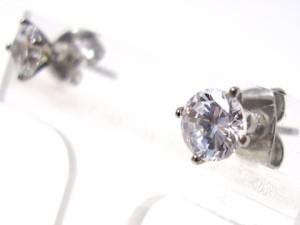 即納 ■送料無料■juraice■CZダイヤモンドステンレスピアスesj803