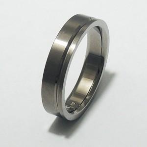 31%OFF! 平打ちライン・細身 純チタンリング 7〜21号 SAVER ONE(セイバーワン) /メンズリング 指輪 チタニウム 金属アレルギーフリー