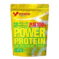 パワープロテイン デリシャスタイプ バナナ風味 1kg 【Kentai(ケンタイ)/健康体力研究所】