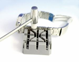 時計工具*時計用ベルトはずし台*プラスチック固定