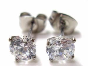 即納 ■juraice■CZダイヤモンドステンレスピアスesj802 千均