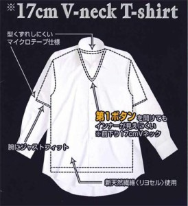 BVD17cmVネックTシャツ LL