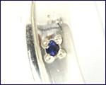 【刻印・送料無料】PureBlue/ピュアブルー * プレーンペアリング * サファイアに想いを込めて silver925(7〜21号)