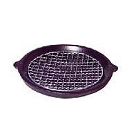 【伊賀焼】長谷園 陶板(小・金網付)◆卓上で焼きながら…ちょっとした贅沢