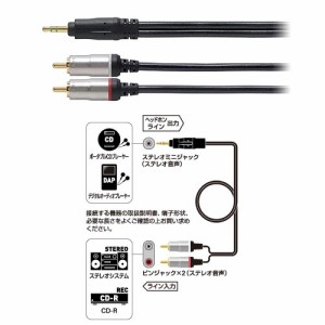 オーディオ変換ケーブル AT561A/1.0 オーディオテクニカ【audio-technica】