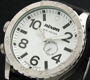 【NIXON/ニクソン】THE 51-30 メンズ WHITE A058100