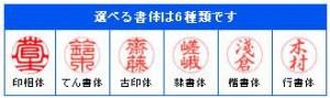 送料無料(定形外郵便)★おしゃれ印鑑・和柄★印...