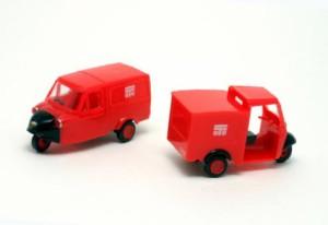 1/80 Ra80 ダイハツミゼット DKA&MP5 郵便車/特価