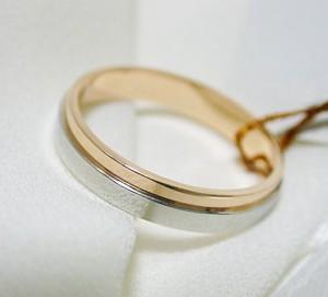【ペアリング:結婚指輪】Pt900 K18 ピンクゴールド 2カラー  ペアリング マリッジリング