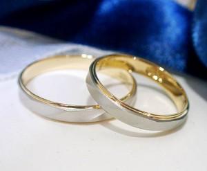【ペア価格:結婚指輪】造幣局検定刻印 プラチナ900 K18 マリッジリング