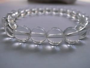 最高級天然本水晶ブレス8mm