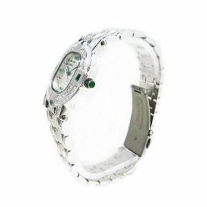 ヴァレンチノロレンタ天然エメラルド使用スクエアー腕時計VR110EM鑑別書付き 送料無料